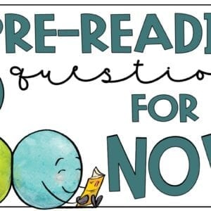 16 PreReading Questions for Any Novel