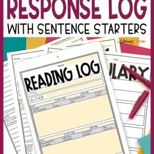 Reading Log with Summary