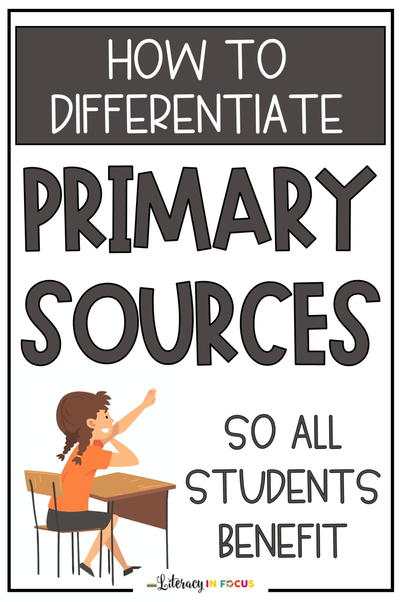 How to Differentiate Primary Sources