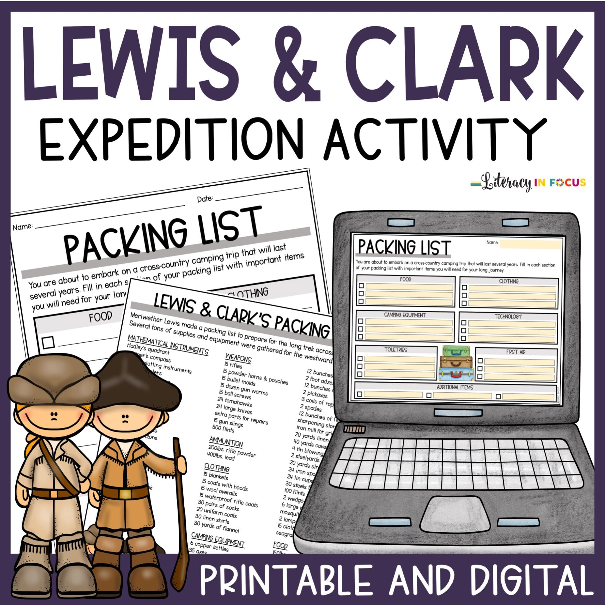 Lewis and Clark Free Lesson Plan PDF