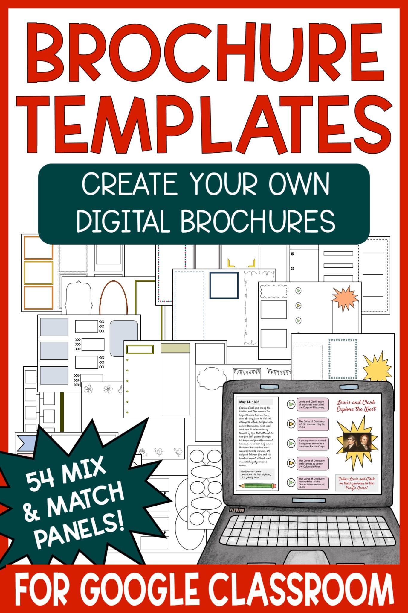 Digital Brochure Templates