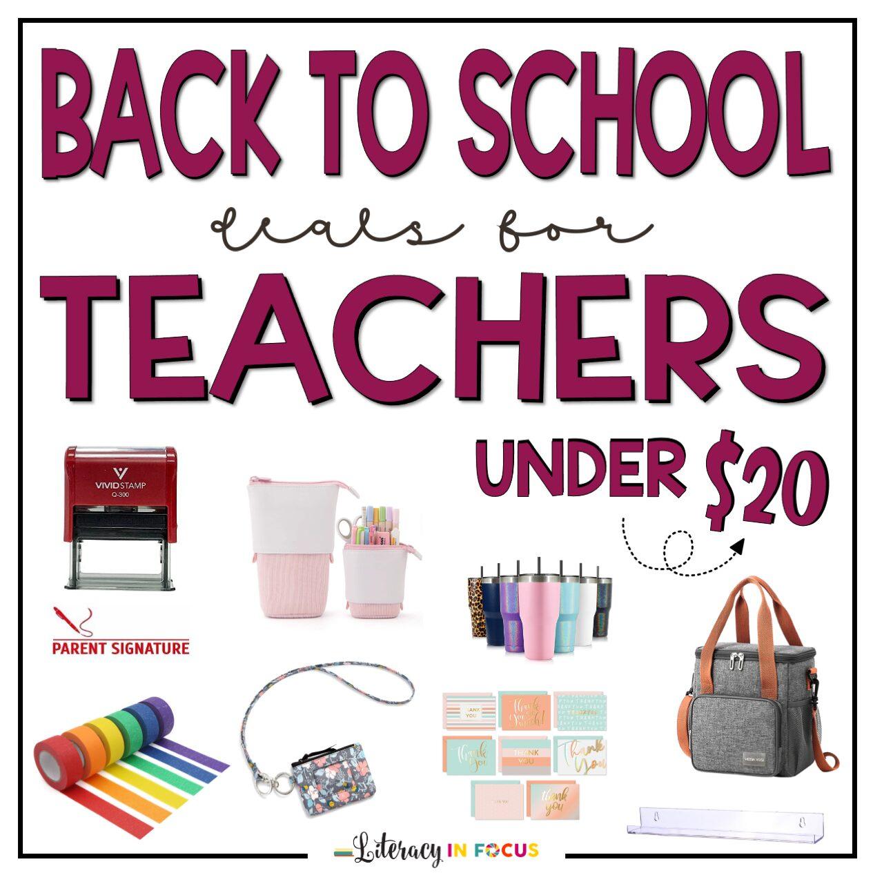 Back to School Teacher Supplies Amazon