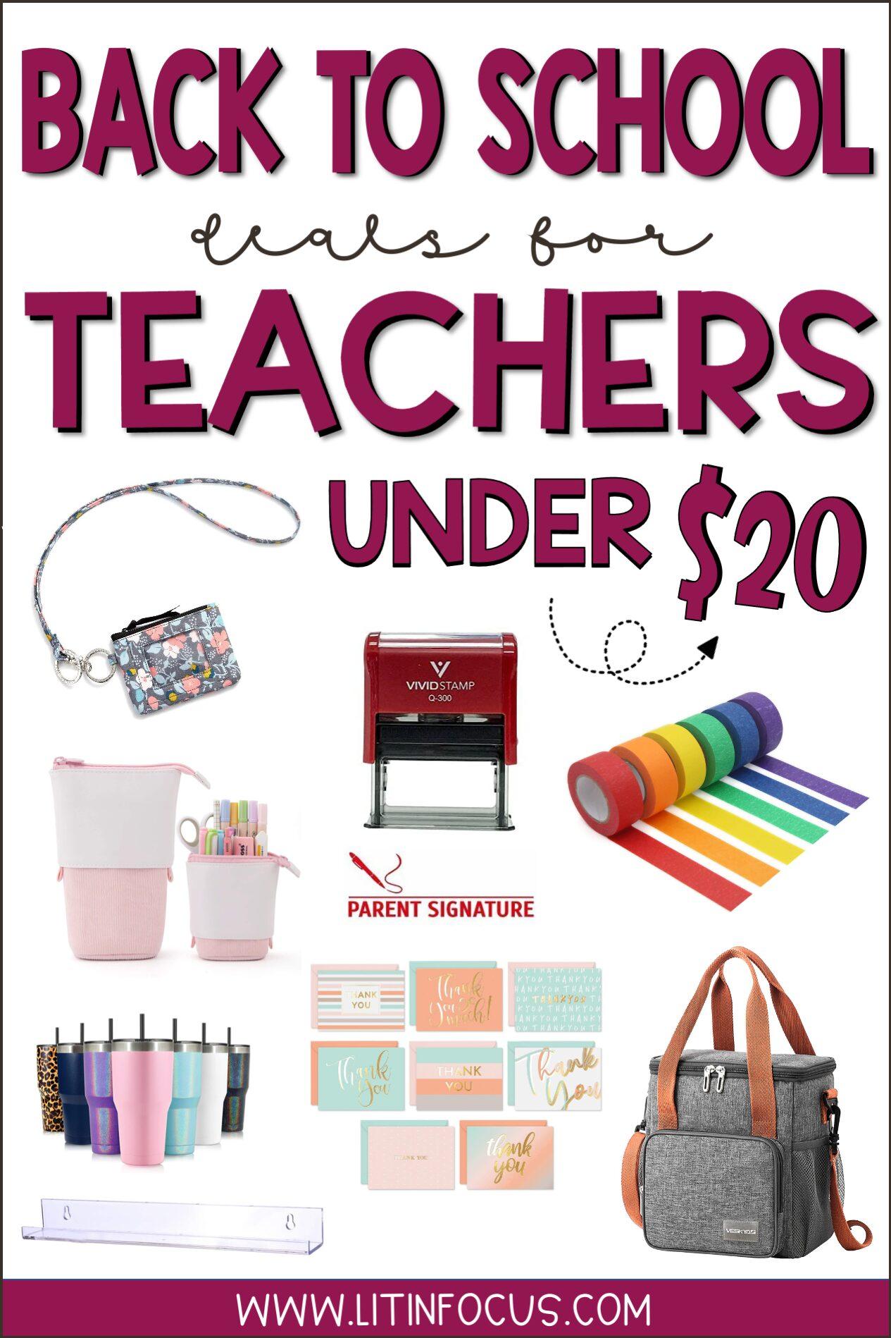 Back to School Teacher Deals