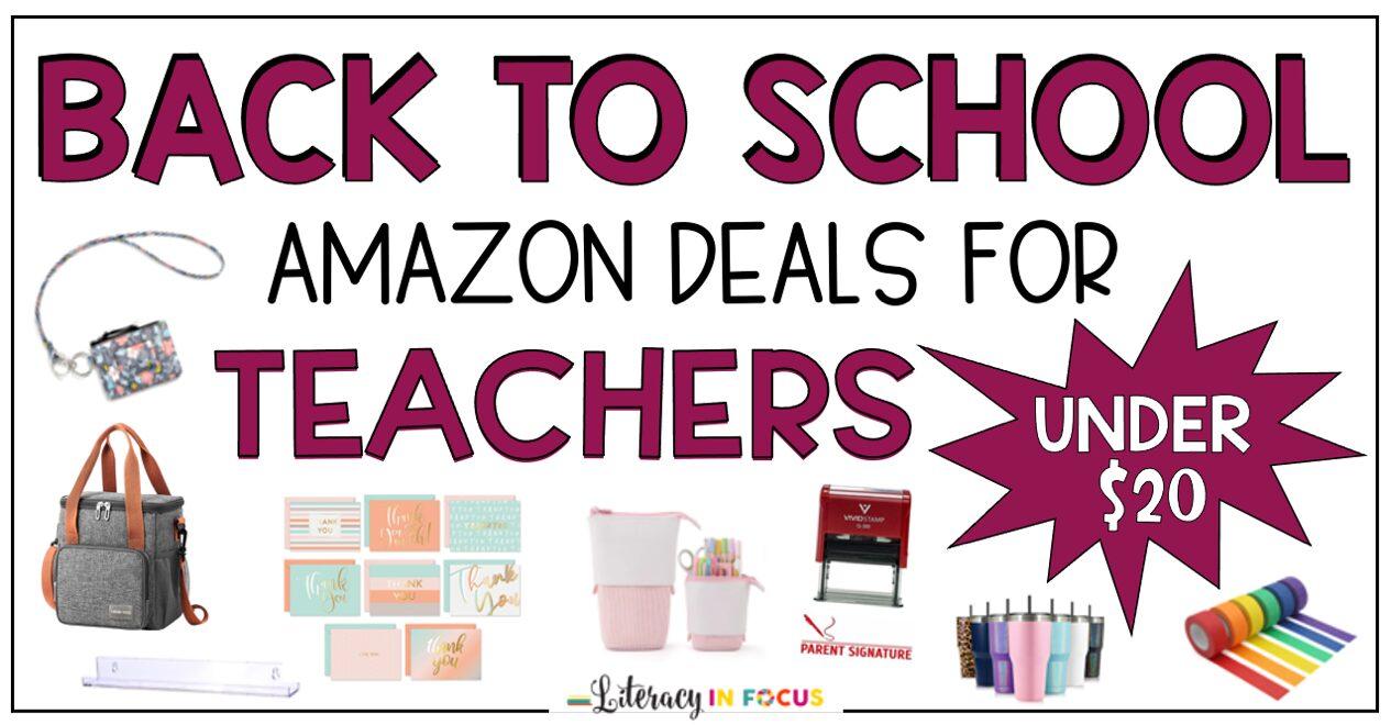 Amazon Back to School Deals for Teachers