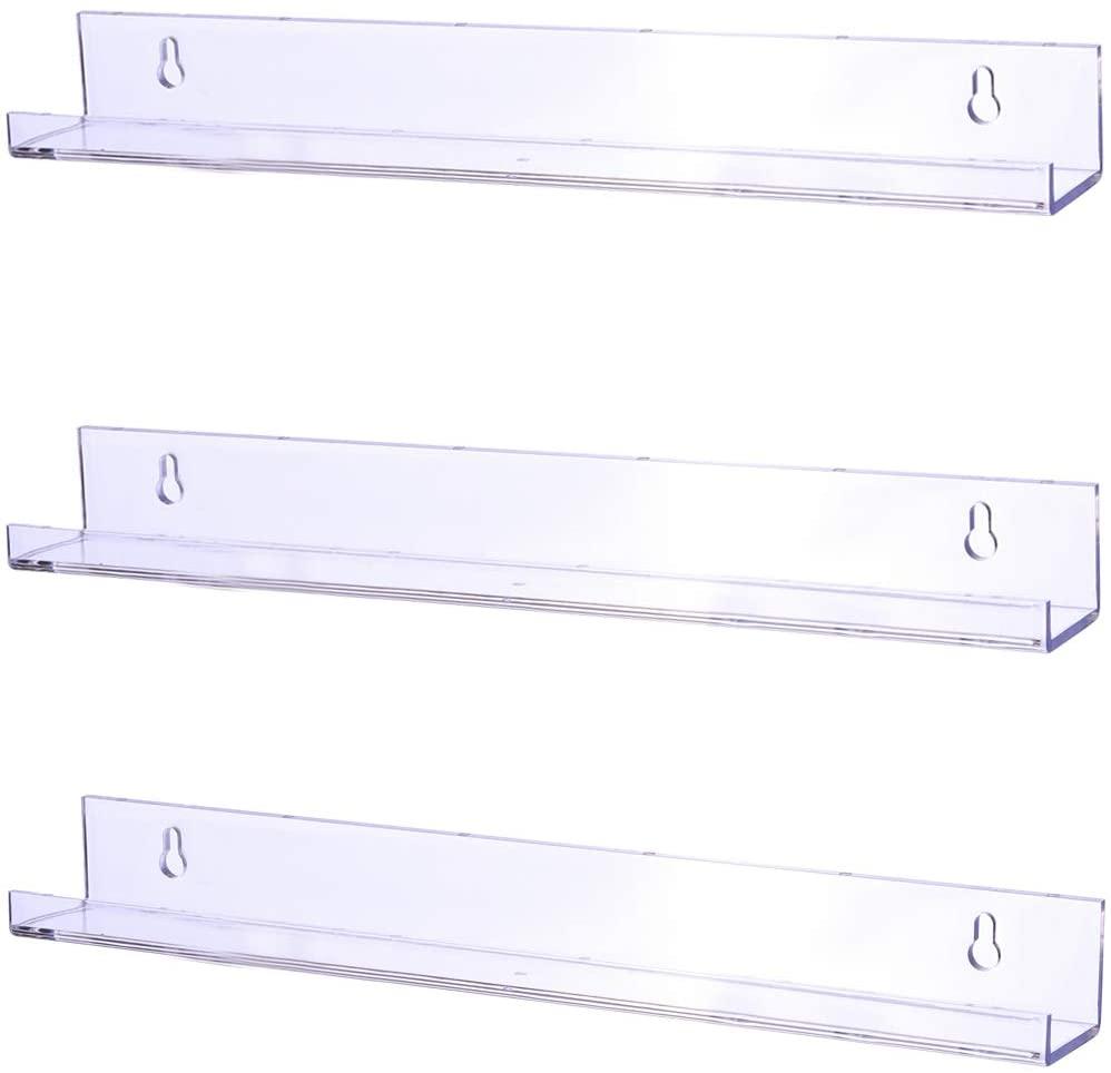 Floating Bookshelves for Classroom