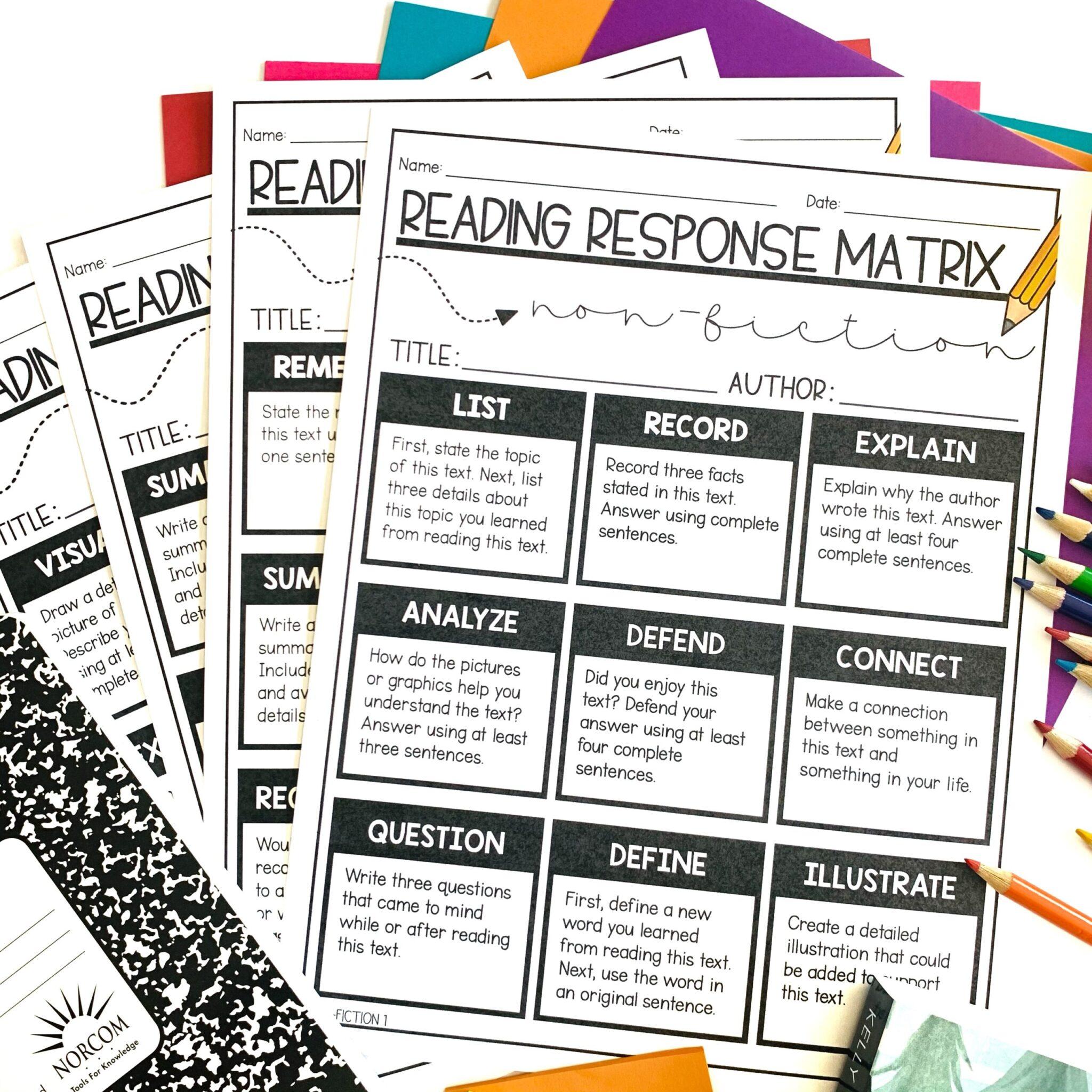 editable, printable, digital student choice boards