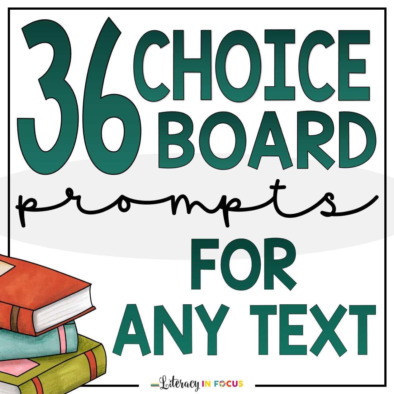 Choice Board Prompts for Any Text