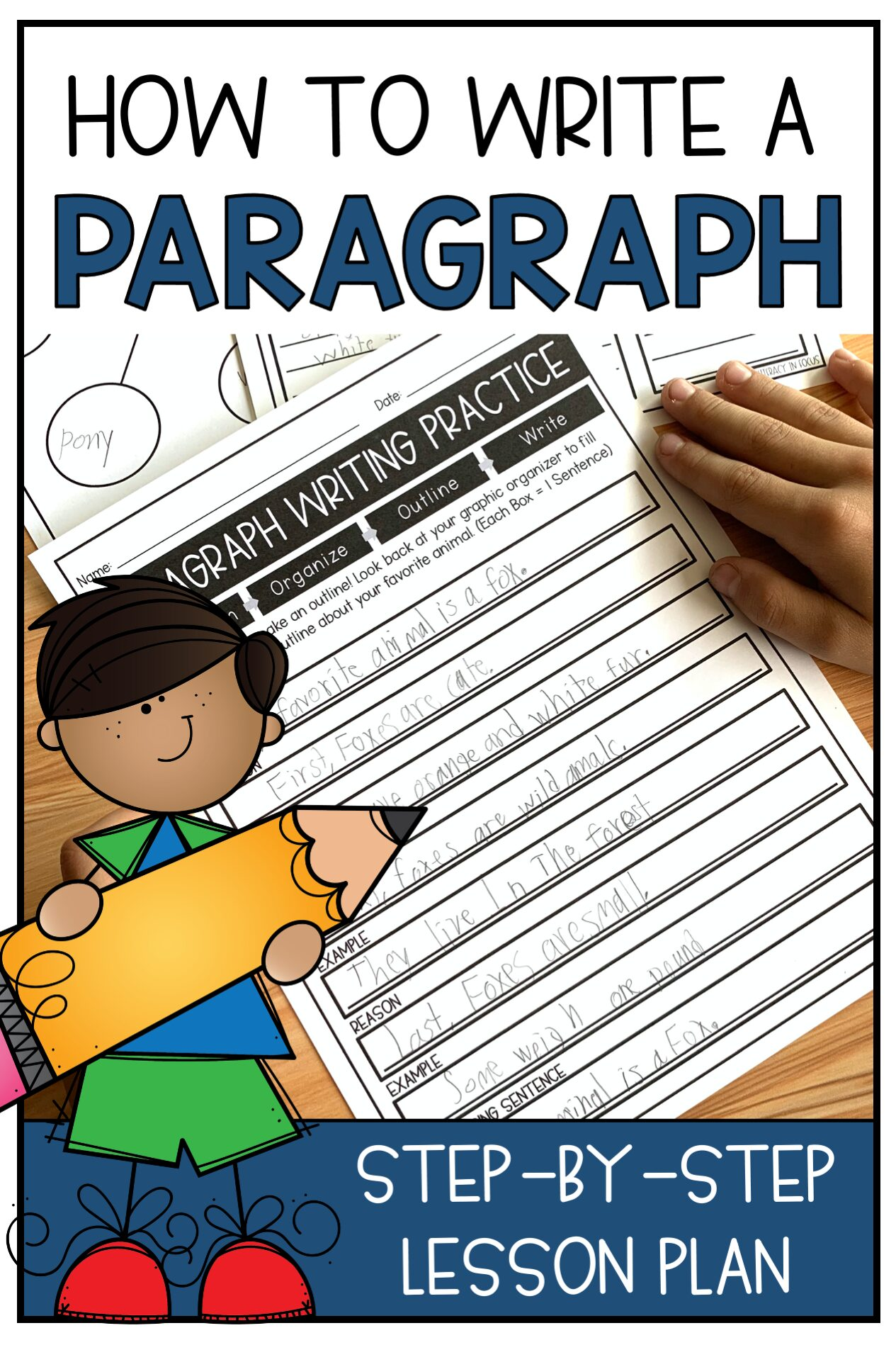 How to Write a paragraph Lesson plan